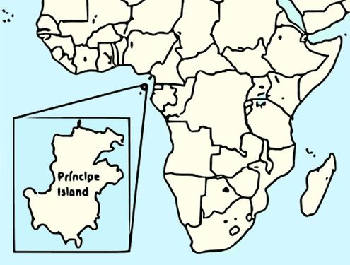 Map Principe